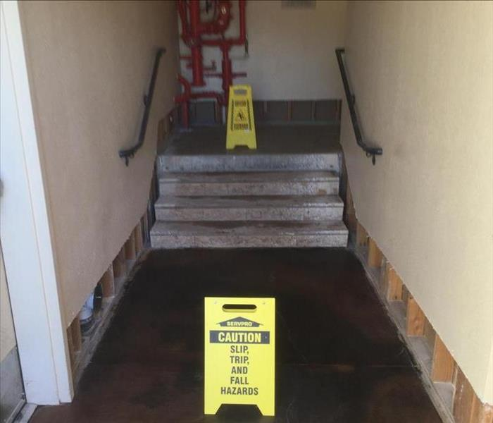 Commercial Building and Water Damage in Sacramento After