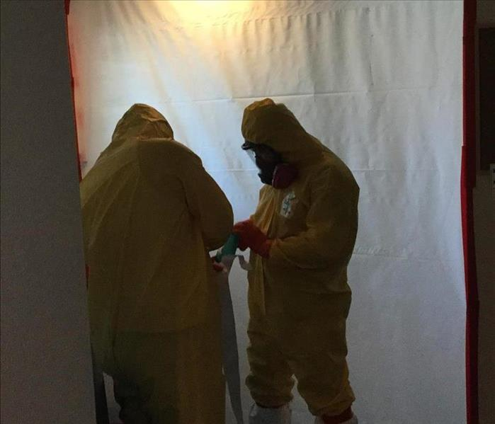 Picture of our technicians in PPE